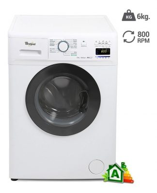 LAVARROPAS WHIRLPOOL CARGA FRONTAL WNQ66A 6KG